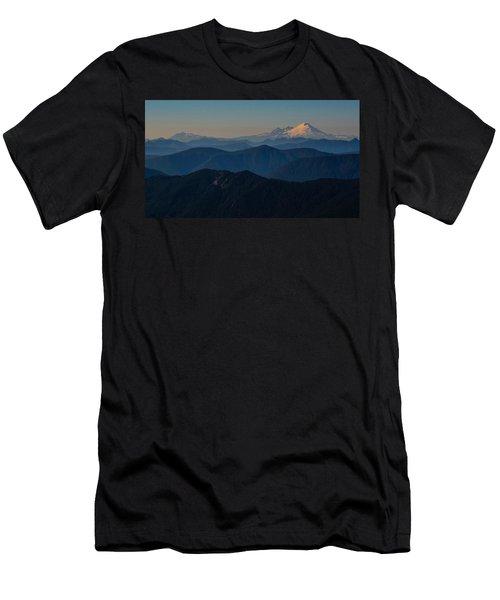 Mt. Baker From Mt. Pilchuck Men's T-Shirt (Athletic Fit)