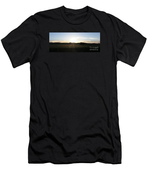Mt. Diablo Sunset Men's T-Shirt (Athletic Fit)