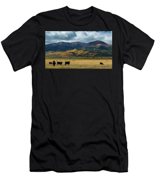 Mt. Elbert Men's T-Shirt (Athletic Fit)