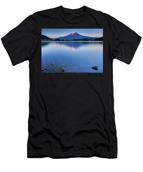 Mt Fuji - First Light Men's T-Shirt (Athletic Fit)