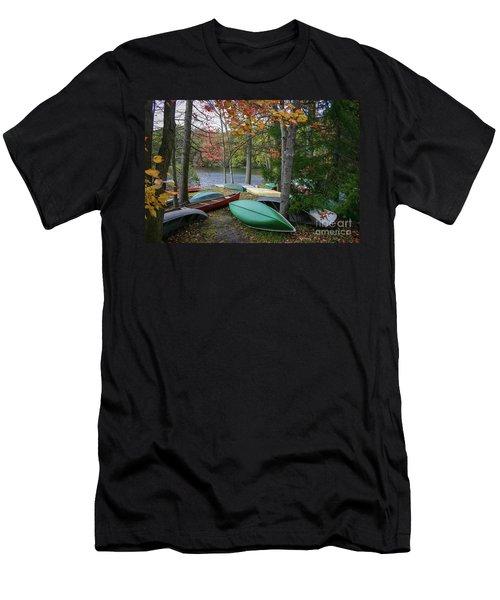 Mt. Gretna Canoes Men's T-Shirt (Athletic Fit)