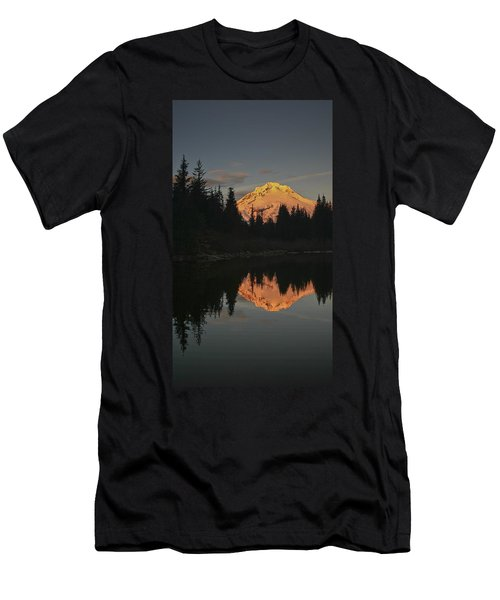 Mt Hood Alpenglow II Men's T-Shirt (Athletic Fit)