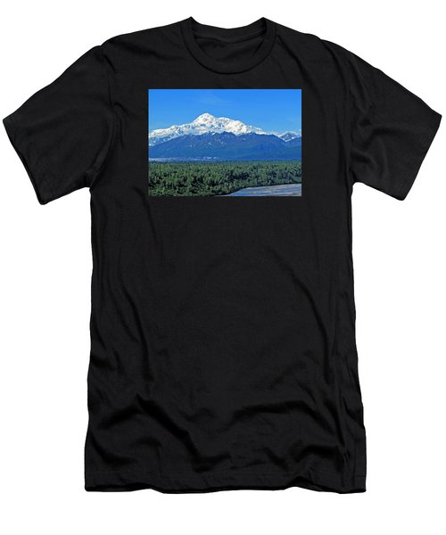 Denali, Aka Mt. Mckinley  Men's T-Shirt (Athletic Fit)