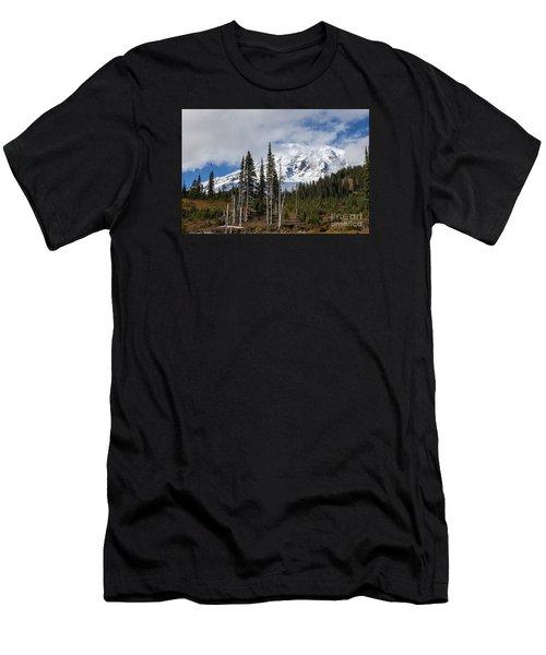 Mt. Rainier High Meadow Men's T-Shirt (Athletic Fit)