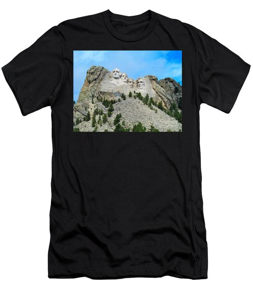 Mt Rushmore Men's T-Shirt (Athletic Fit)