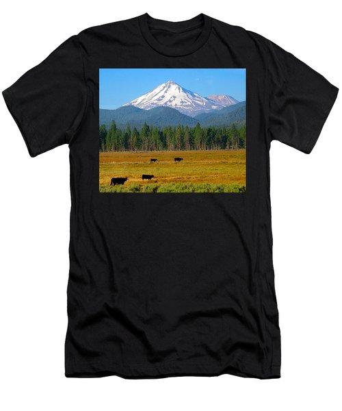 Mt. Shasta Morning Men's T-Shirt (Athletic Fit)