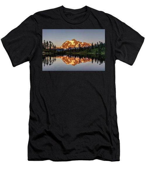 Mt Shuksan Reflection Men's T-Shirt (Athletic Fit)