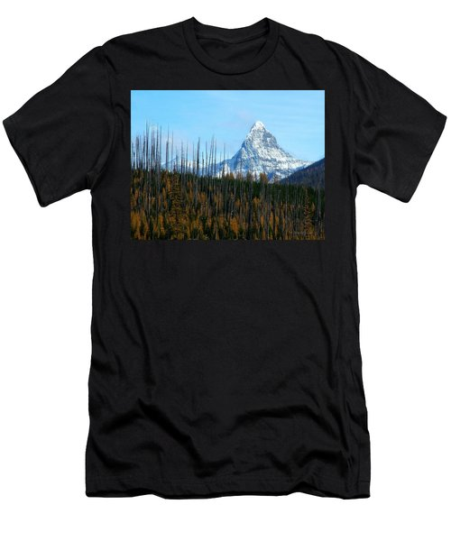 Mt St Nicolas After The Fire Men's T-Shirt (Athletic Fit)