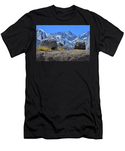 Mt. Whitney - Highest Point In The Lower 48 States Men's T-Shirt (Athletic Fit)
