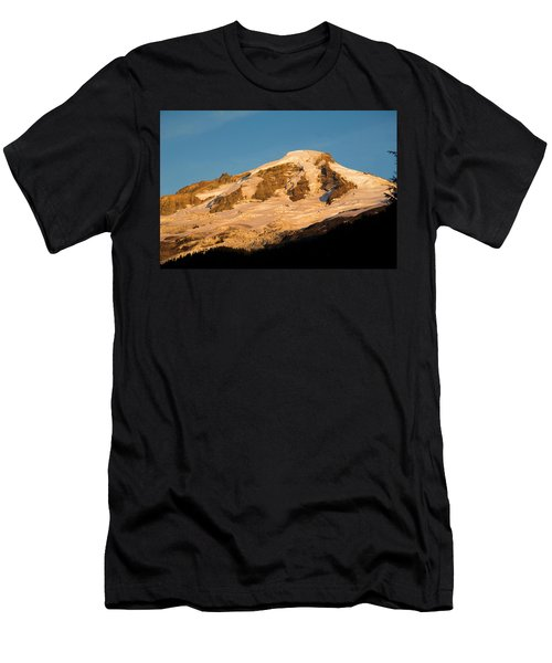 Mt.baker At Sunset  Men's T-Shirt (Athletic Fit)