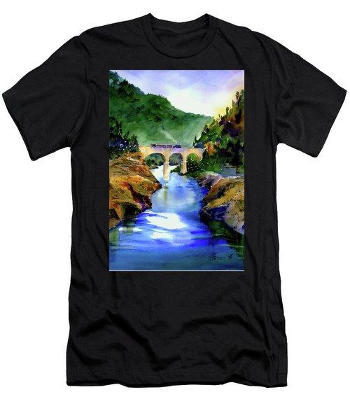 Mtn Quarries Rr Bridge Men's T-Shirt (Athletic Fit)
