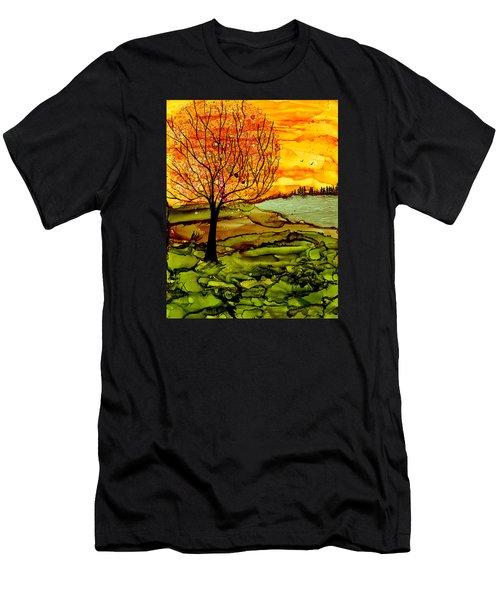 Muddy Fall Men's T-Shirt (Athletic Fit)