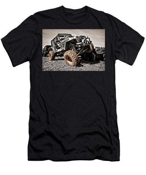 Muddy Super Swamper Tj Men's T-Shirt (Athletic Fit)