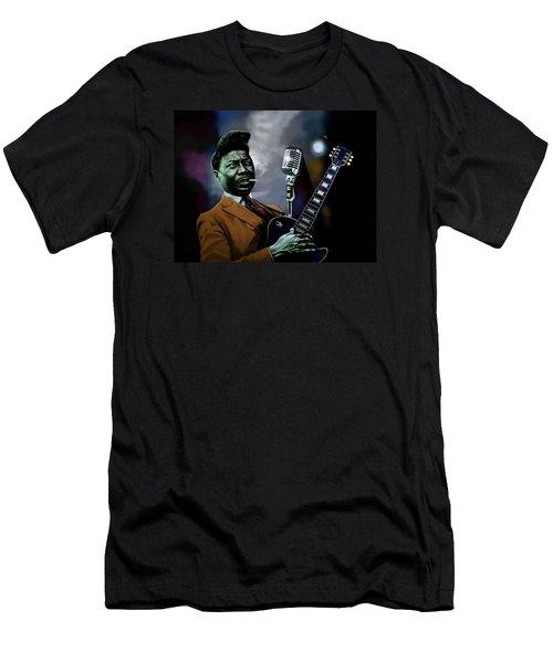 Muddy Waters - Mick Jagger's Grandfather Men's T-Shirt (Slim Fit) by Dan Haraga
