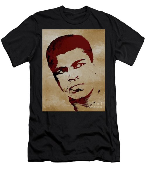 Muhammad Ali Boxer Men's T-Shirt (Athletic Fit)