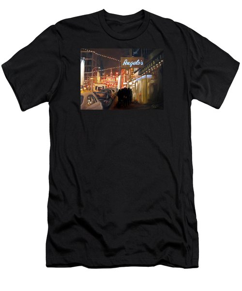 Mulberry St. Nyc Men's T-Shirt (Athletic Fit)