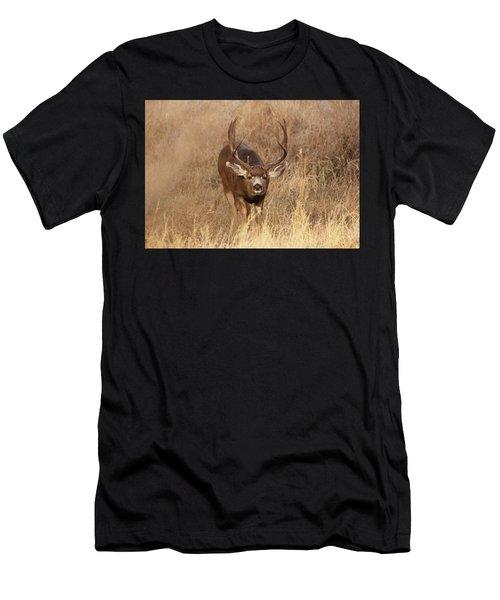 Muledeerbuck1 Men's T-Shirt (Athletic Fit)