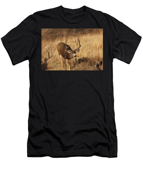 Muledeerbuck9 Men's T-Shirt (Athletic Fit)