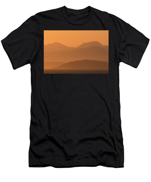 Mull Sunrise Men's T-Shirt (Athletic Fit)