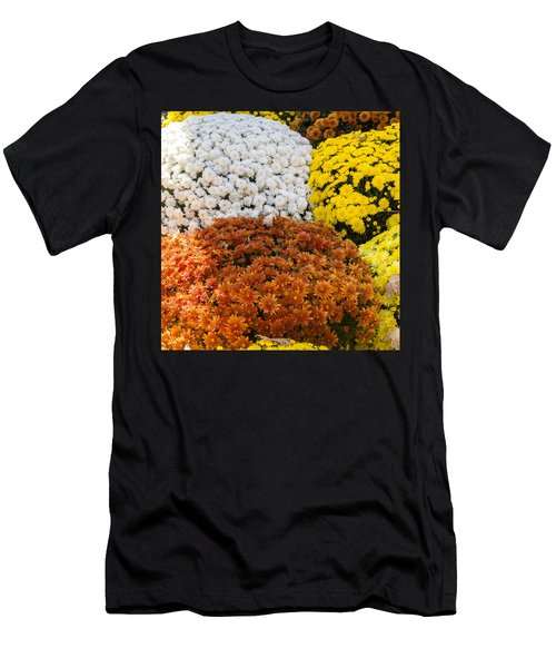 Mums - Farmers Market - Madison -wisconsin Men's T-Shirt (Athletic Fit)