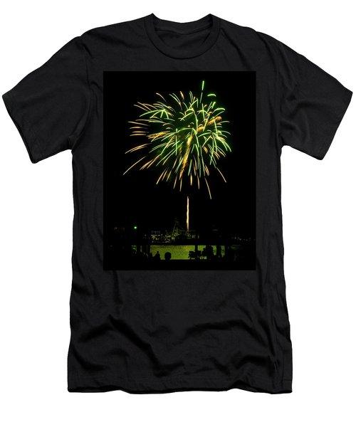 Murrells Inlet Fireworks Men's T-Shirt (Athletic Fit)