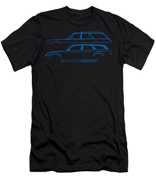 Muscle Wagon Silhouettehistory Men's T-Shirt (Athletic Fit)