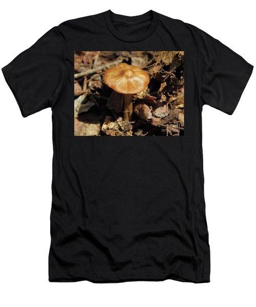 Mushroom Rising Men's T-Shirt (Athletic Fit)