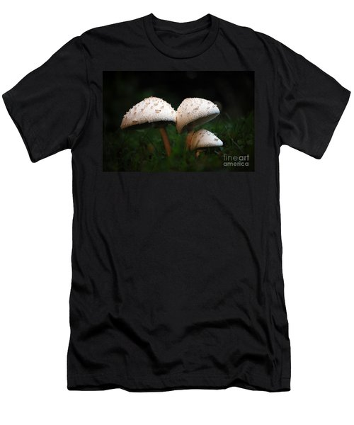 Mushrooms In The Morning Men's T-Shirt (Athletic Fit)