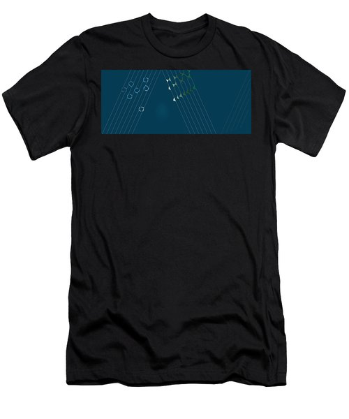 Music Hall Men's T-Shirt (Athletic Fit)