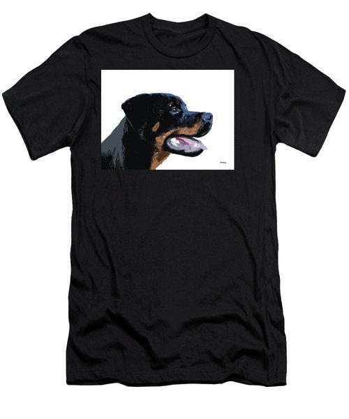 Men's T-Shirt (Slim Fit) featuring the digital art Music Notes 33 by David Bridburg