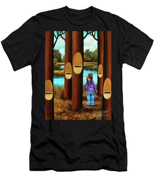 Music Of Forest Men's T-Shirt (Athletic Fit)