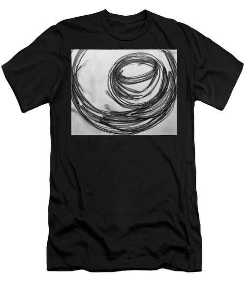 Music Sketch Study Leon Bridges Men's T-Shirt (Athletic Fit)