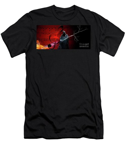 Music To Die For Men's T-Shirt (Athletic Fit)