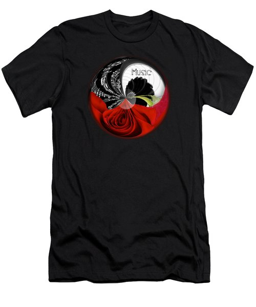 Musical Orb Men's T-Shirt (Athletic Fit)