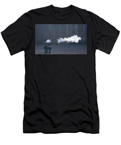 Musketman Men's T-Shirt (Athletic Fit)