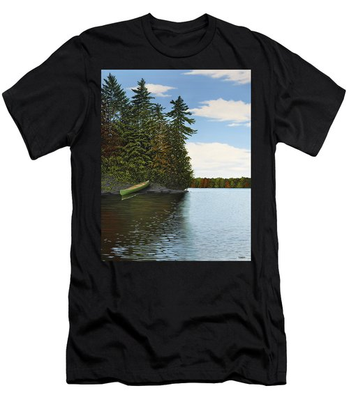Muskoka Shores Men's T-Shirt (Athletic Fit)
