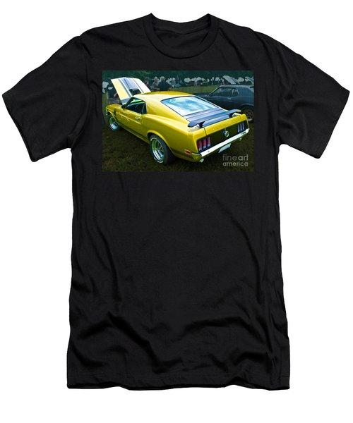 Mustang Boss 302 Men's T-Shirt (Athletic Fit)