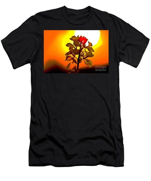 Mustard Sunset Men's T-Shirt (Athletic Fit)