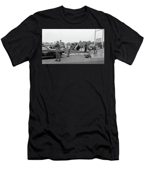 Mva At Shopping Center Men's T-Shirt (Athletic Fit)