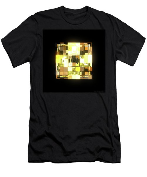 My Cubed Mind - Frame 001 Men's T-Shirt (Athletic Fit)