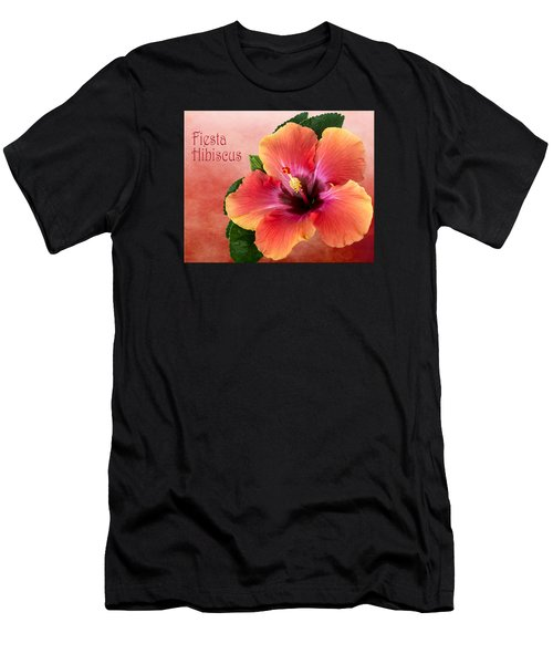My Fiesta Hibiscus Men's T-Shirt (Athletic Fit)