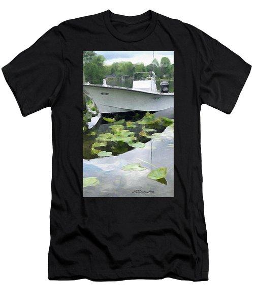 My Grandson's Boat Men's T-Shirt (Athletic Fit)