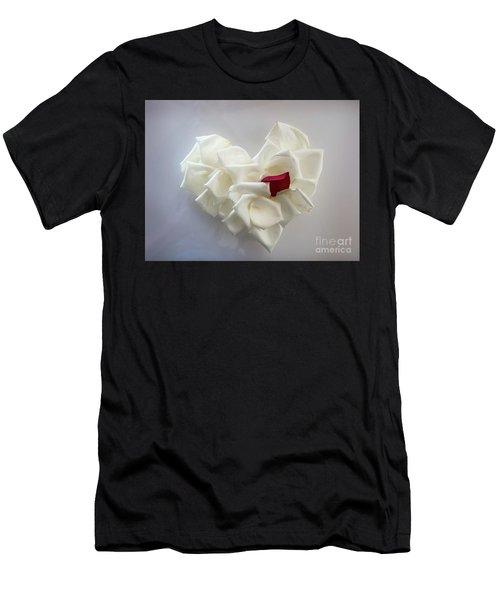 My Heart Men's T-Shirt (Athletic Fit)