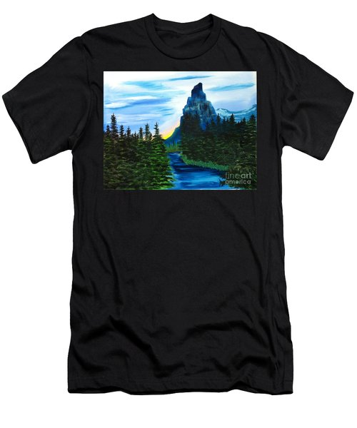 My Imagination Only Men's T-Shirt (Athletic Fit)