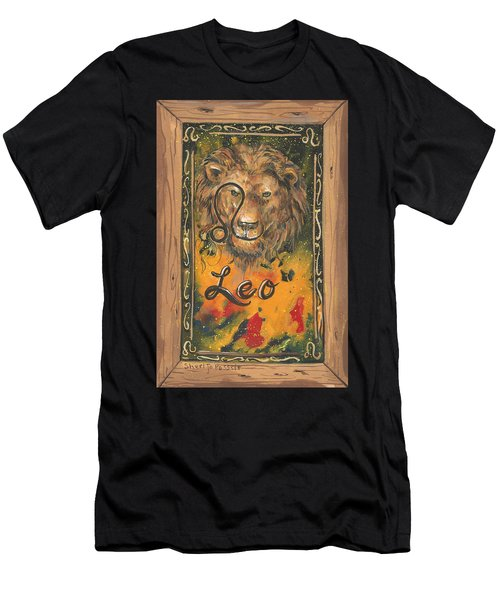 My Leo  Men's T-Shirt (Athletic Fit)