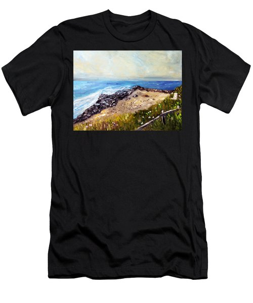 My Little Patch Of Beach Men's T-Shirt (Athletic Fit)