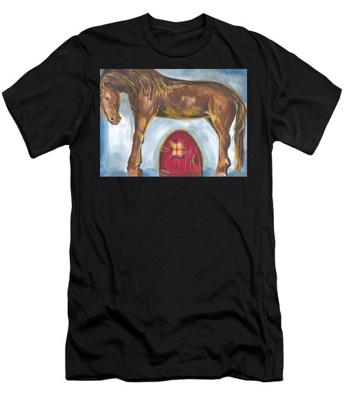 My Mane House Men's T-Shirt (Athletic Fit)