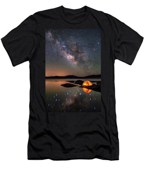 My Million Star Hotel Men's T-Shirt (Slim Fit) by Darren White