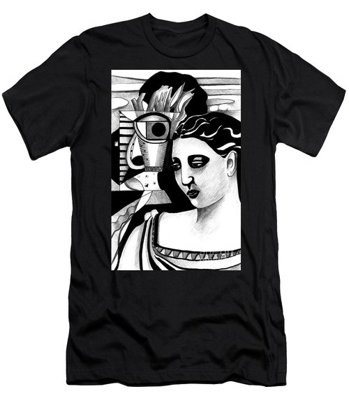 My Outing With A Young Woman By Picasso Men's T-Shirt (Athletic Fit)