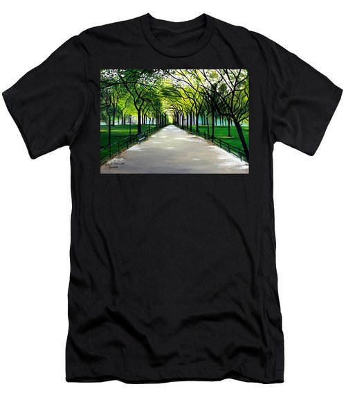 My Poet's Walk Men's T-Shirt (Athletic Fit)